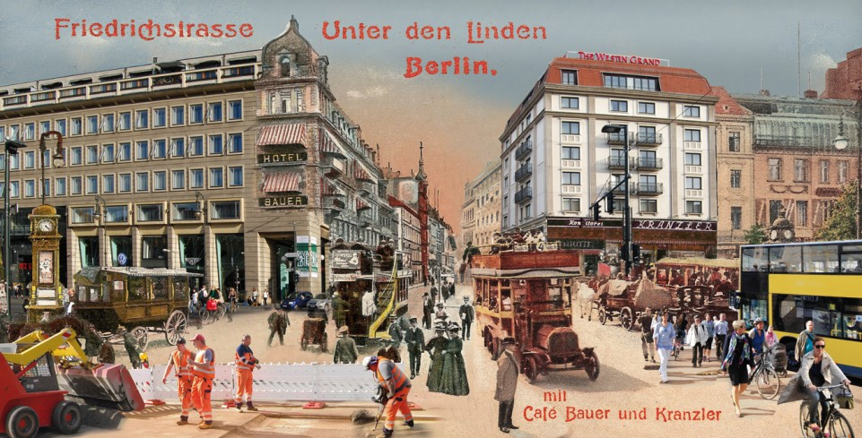 Friedrichstrasse / Unter den Linden