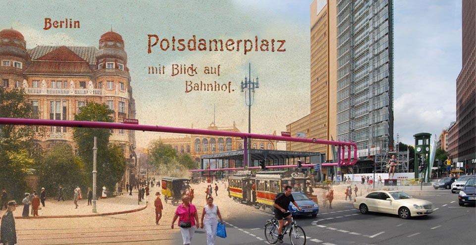 Potsdamer Platz Gruss Aus Berlin