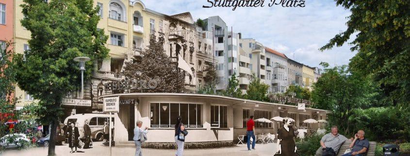stuttgarter platz vor 50 jahren montage alt und neu gruss aus berlin. Black Bedroom Furniture Sets. Home Design Ideas
