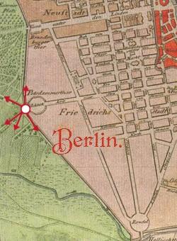 Grafik Berlin Leipziger Platz