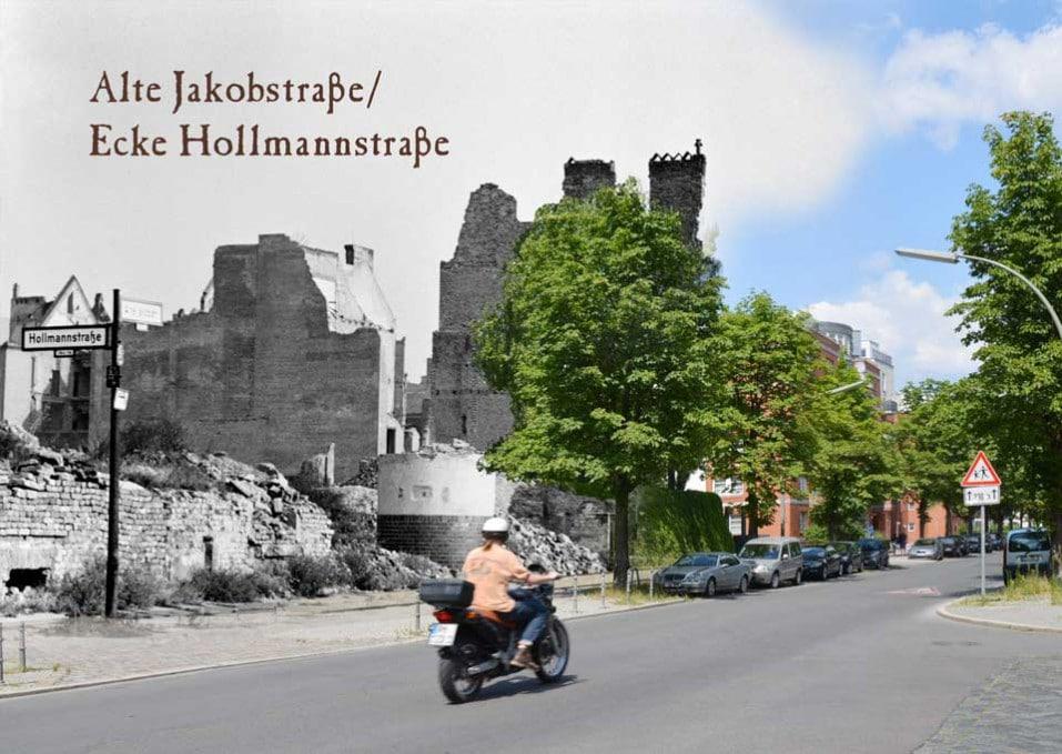 Berlin Alte Jakobstrasse Hollmannstrasse 1945 2015 Zeitreise