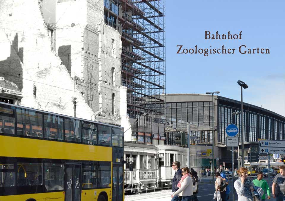 Berlin Bahnhof Zoologischer Garten Hardenbergplatz 1945