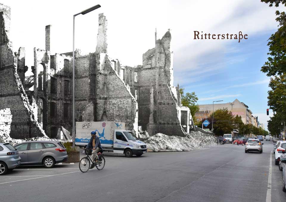 Berlin Ritterstrasse 1945 2015 Zeitreise