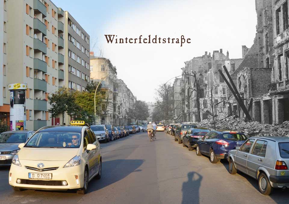 Berlin Winterfeldtstrasse 1945 2015 Zeitreise